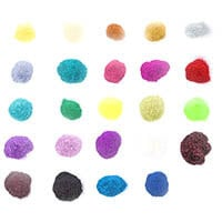 Glitter Greetings 24 Bags of Glitter - Assorted Colours-887105