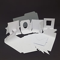 Which Craft? Gatefold Tree and Star Cards with Box Envelope Templ-887475