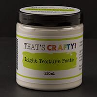 That's Crafty! Light Texture Paste - 250ml-891214