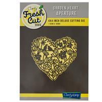 Clarity Fresh Cut Garden Heart 4x4