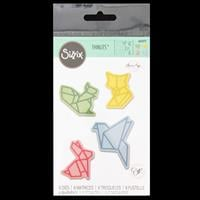 Sizzix® Thinlits™ Set of 8 Dies - Origami Animals by Olivia Rose-892948