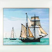 PixelHobby Sailing Ship Kit  - 36 x Baseplates & 581 x Pixelsquar-893896