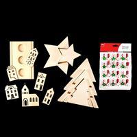 Christmas MDF Bundle - Nested Christmas Trees & Stars, Candlestic-895806