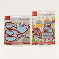Marianne Design 2 x Dies Sets   Creatables Tea For Two and Mini C-895911