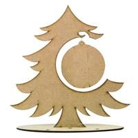 Luv Crafts Set of 2 MDF Bauble Trees-896533