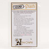 Nina Crafts Stamp and Stash 2mm Polycarbonate Stamping Blocks x 2-896648