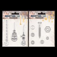 Luv Crafts Industrial Tool & Botanic Floral Die Set Pick-n-Mix Ch-899242
