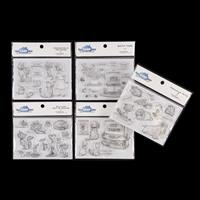 Mark Bardsley 5 x A6 Stamp Sets - Precious Pets - 50 Stamps in To-899376
