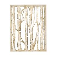 Sizzix® Thinlits™ Die - Branched Birch by Tim Holtz®-902488