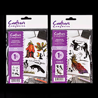 Crafter's Companion A6 Rubber Stamps - New Magic and Unicorn Magi-903692
