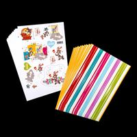 2 x Packs of Paper In Assorted Designs - Tom And Jerry & Bright S-909790