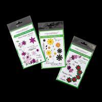 Easycraftideas 3 x A6 Flower Stamp Sets - Wonderful Wreaths, Fanc-910151