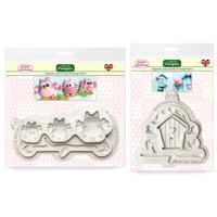 Sugar Buttons - Owl & Birdhouse Silicone Mould Collection-912025