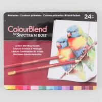 Spectrum Noir ColourBlend 24 Pencils - Primaries-914733