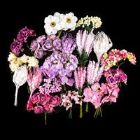 Dawn Bibby 20 Bunches of Premium Organic Flowers - Lilac & Pink-916602