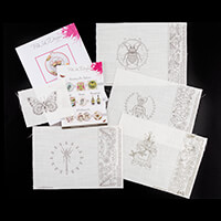 Pink Ink Designs Colour, Cut & Create 4 x Wings Designs with 3D e-916937