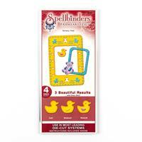 Spellbinders Frameabilities Die Set -  Nursery Time - 4 Dies Tota-918701