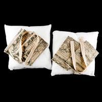 The Millshop Online Atlas Cushion Making Kit - Panels, Zips, 2 x -921533