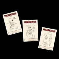 Lets Create 3 x Stamp Sets - Doodle-Ish Collection - Butterfly, O-924234