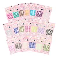 Pearl & Gem 3mm Self Adhesive Embellishments - Assorted Colours --925482