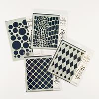 Clarity Stamp Pattern Background Stencils-926746