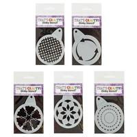 That's Crafty! Pick n Mix Round Dinky Stencils - Pick Any 5-928009