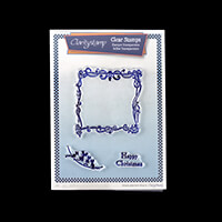 Claritystamp Twas the Night Extras A5 Fine Line Stamp Set-928955