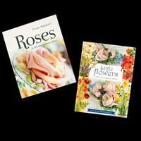Search Press Set of 2 Organza Ribbon Guide Books - Little Flowers-932063