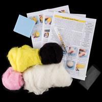 Felt and Dandy 6 Bumble Bees Needle Felt Kit-932227