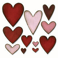 Sizzix® Bigz™ Die - Heartfelt by Tim Holtz-932439