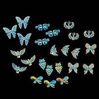 Craft Buddy Colour Me Crazy Fantasy Resin Toppers 24pcs-933305