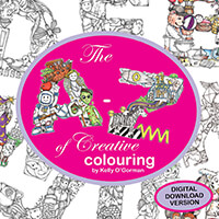 Kelly O'Gorman The A-Z of Creative Colouring Book - Digital Downl-933986