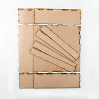 Daisy's MDF Box for Graphic 45 Papers-934459