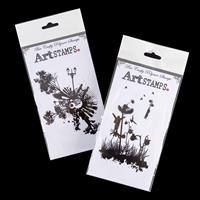 Art Stamps - Fly Away & Circle of Life - 2 Stamps Total-934611