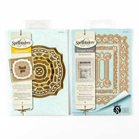 Spellbinders 2 x Die Sets - Gold Labels Thirty-Four & Renaissance-936457