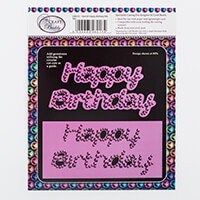 Craft Buddy Gem It Happy Birthday Die Set -2 Dies-937846