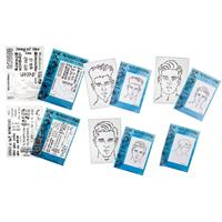 Craftascope A5 Media Stamp and Stencil Collection - 4 x Stencils -938487
