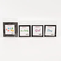 Crafts Too Set of 4 Presscut Baby Dies-938756