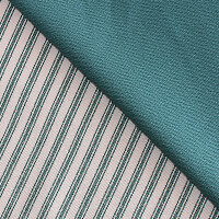 Craft Yourself Silly 100% Cotton 1/2m Stripe Canvas Fabric with 1-939764