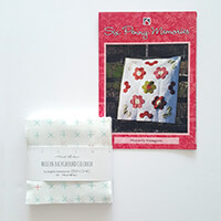 Six Penny Memories Color Box Charm Pack and Heavenly Hexagons Pat-941244