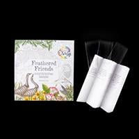 Clarity Feathered Friends Colouring Book & Bookmarks-942851