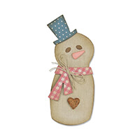 Sizzix® Bigz™ Die - Snowman by Samantha Barnett-943182