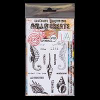 AALL & Create Clear Stamp Set - Underwater Wonders - 14 Stamps-944978