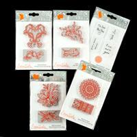 Tonic Essentials 5 x Stamp Sets - The Flourish Collection - Flora-945410