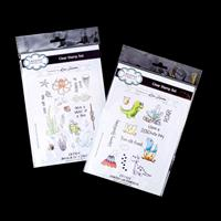 Creative Expressions 2 x Stamp Sets - Dinosaur Friends & Whale of-948889