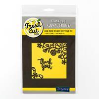 Clarity Fresh Cut Floral Frame Die Set -Thank You - 2 Dies-953176