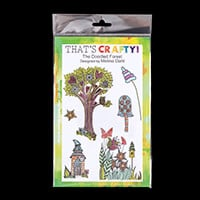 That's Crafty! A5 Fanciful Clear Stamp Set-953746