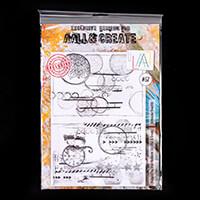 AALL & Create A4 Stamp - Orbicular Graffiti-953922