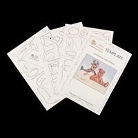 Dolly Dimples Baby Bear & Friends Mini Templates - Teddy Bear, Po-954214