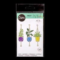 Sizzix® Thinlits Set of 4 Dies - Hanging Planter by Olivia Rose-957698